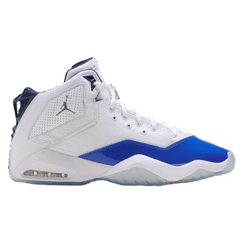 Jordan B'Loyal Basketball White, Metallic Silver, Hyper Royal 315317-114