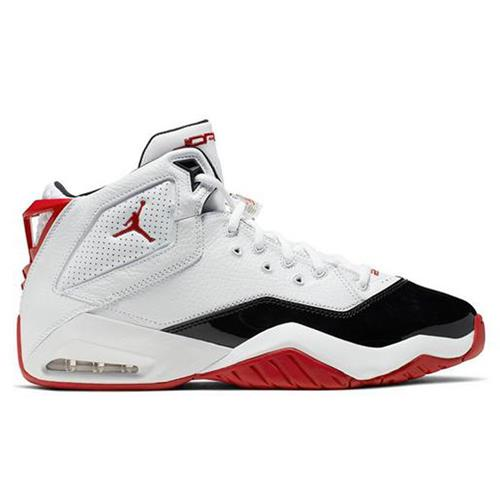 Jordan B'Loyal Basketball White, Varsity Red, Black 315317-160