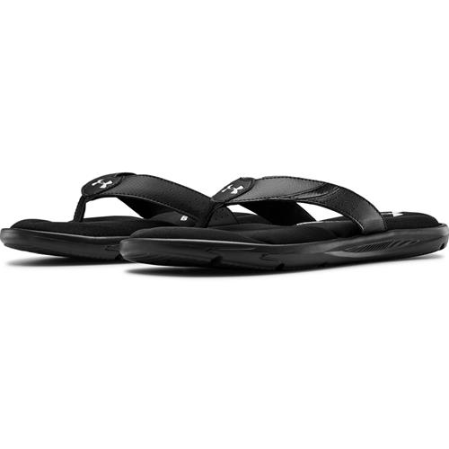 Under Armour UA Ignite III Men's Thong Sandal in Black 3022707-001