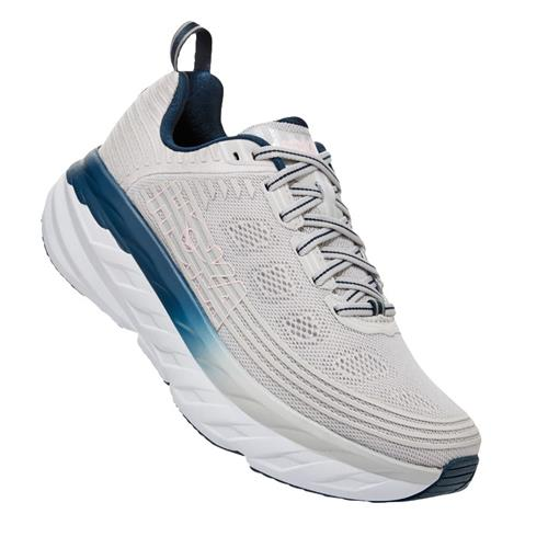 Hoka One One Bondi 6 Women's Lunar Rock, Nimbus Cloud 1019270 LRNC
