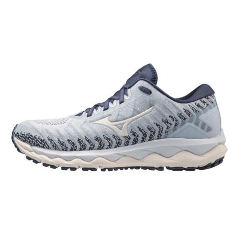 Mizuno Wave Sky 4 WAVEKNIT Women's Running Arctic Ice 411222 5757