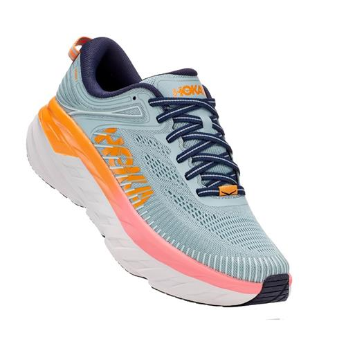 Hoka One One Bondi 7 Women's Blue Haze, Black Iris 1110519 BHBI