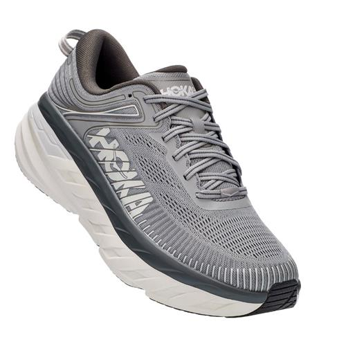 Hoka One One Bondi 7 Men's Wide EE Wild Dove, Dark Shadow 1110530 WDDS
