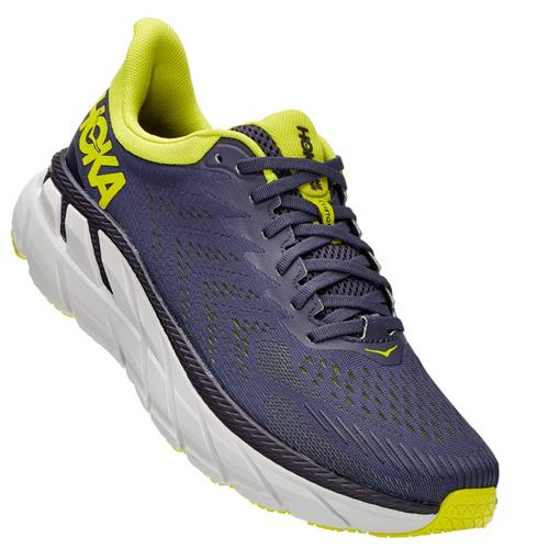 Hoka One One Clifton 7 Men's Odyssey Grey, Evening Primrose 1110508 OGEP
