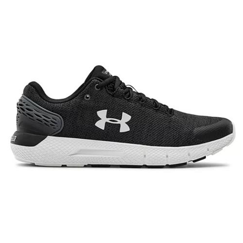 Under Armour Charged Rogue 2 Twist Men's Running Shoes in Black, White 3023879-001