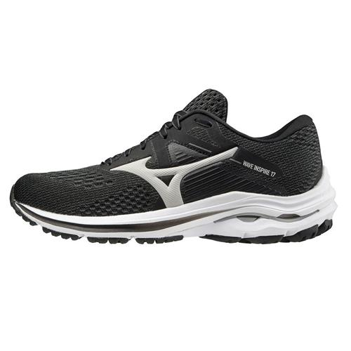 Mizuno Wave Inspire 17 Women's Running Shoe Wide D Dark Shadow-Lunar Rock 411312.989R