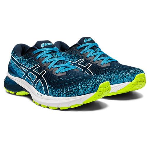 Asics GT-2000™ 9 Knit Men's Running Shoe French Blue, White 1011A989 400