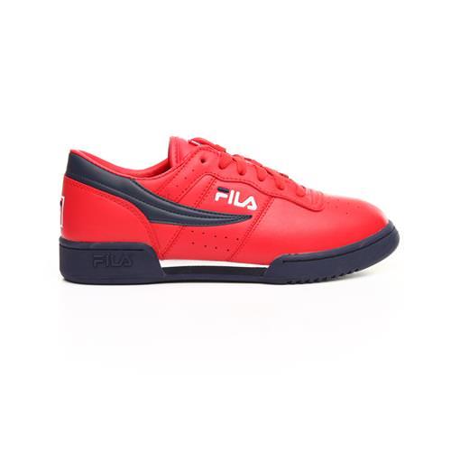 Fila Original Fitness WhiteBlackFire Red Men's Shoes