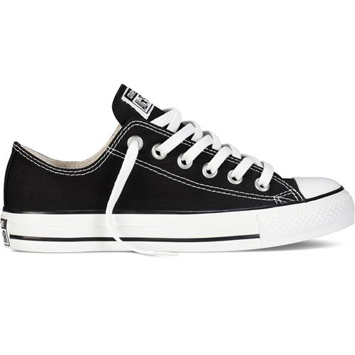 Converse Chuck Taylor Men's All Star Black, White Lo Canvas M9166