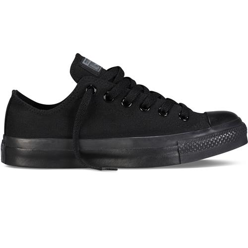 Converse Chuck Taylor Men's All Star Black, Black Lo Canvas M5039