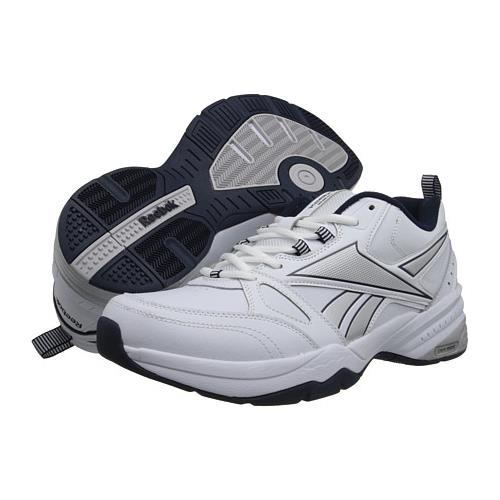 Reebok Royal Trainer 4E Wide White, Navy, Silver for Men M43106