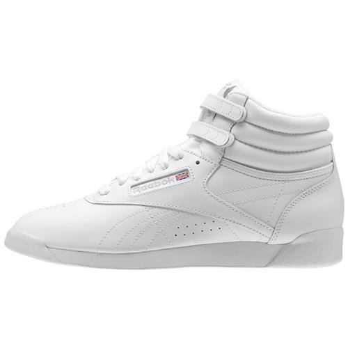 reebok high tops classic. reebok freestyle hi white, silver women\u0027s classic 70 high tops r