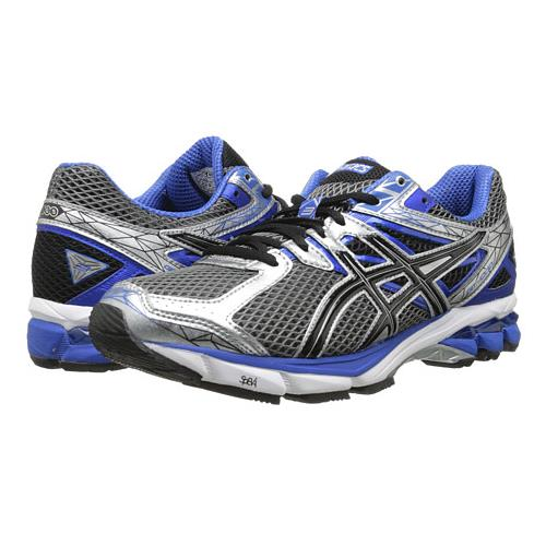 Asics GT-1000 3  Men's Running Shoe Lightning, Black, Royal T4K3N 9190