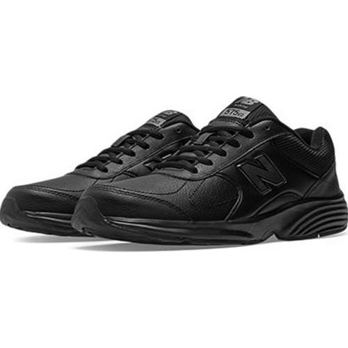New Balance 575 Men's Black Walking Shoe D Medium MW575BL2