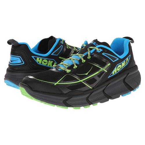 Hoka One One Men's Vanquish Black, Cyan 1007874 BCYN