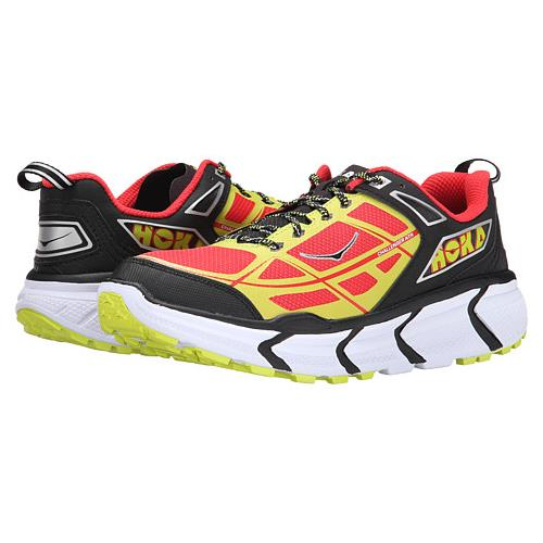Hoka One One Men's Vanquish Black, Poppy Red 1007874 BPRD