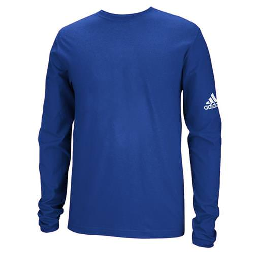 Adidas Long Sleeve College Royal Logo Tee 3599-CLY