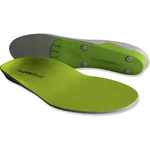 Superfeet Premium Wide Green Unisex Insoles