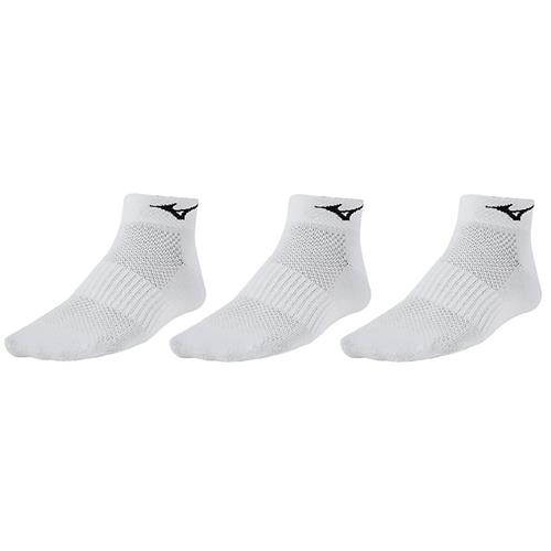 Mizuno Training Mid 3 Pack in White Unisex 421239.0000