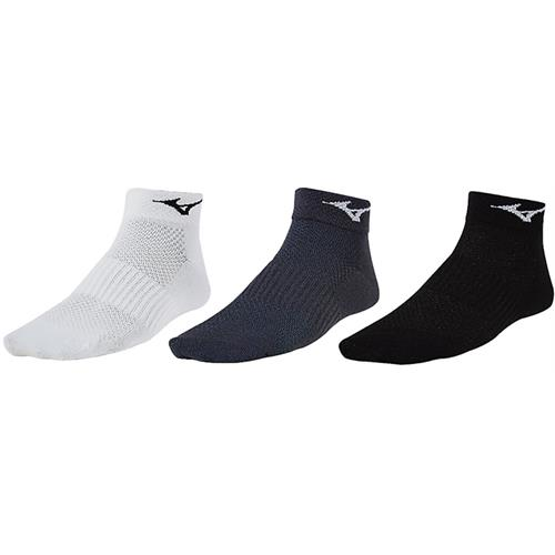 Mizuno Training Mid 3 Pack White, Charcoal, Black Unisex 421239.0092