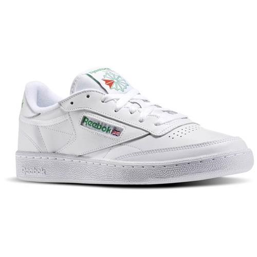 Reebok Club C 85 White/Green Men's Classic AR0456