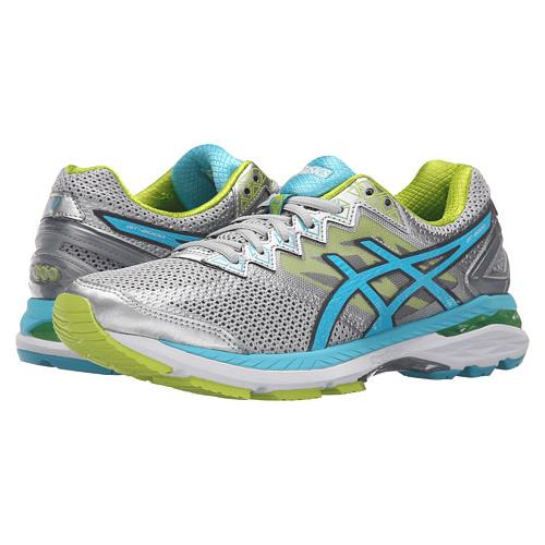 Asics GT-2000™ 4 Women's Running Shoe Silver, Turquoise, Lime Punch T656N 9342