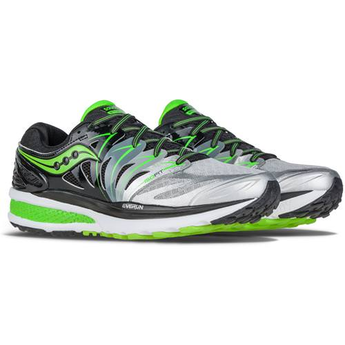 Saucony Hurricane ISO 2 Men's Black, Silver, Lime S20293-1
