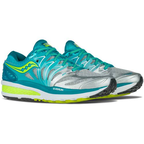 Saucony Hurricane ISO 2 Women's Blue, Silver, Citron S10293-1