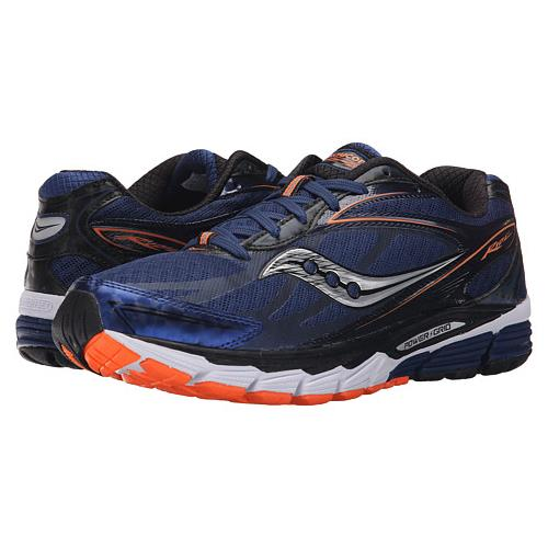 Saucony Ride 8 Men's Running Midnight, Black, Orange S20273-4