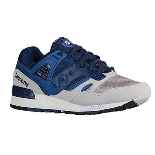 Saucony Grid SD Men's Retro Running Shoe in Blue, Light Grey S70217-1