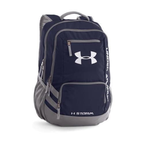 Under Armour Hustle Backpack Midnight Navy 1272782 410