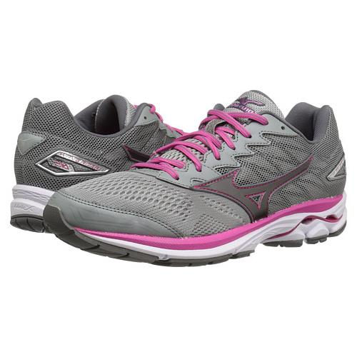 Mizuno Wave Rider 20 Women's Running Griffin, Fuchsia Purple, White 410867.992I