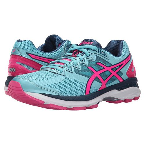 Asics GT-2000™ 4 Women's Running Shoe Turquoise, Hot Pink, Navy T656N.4304