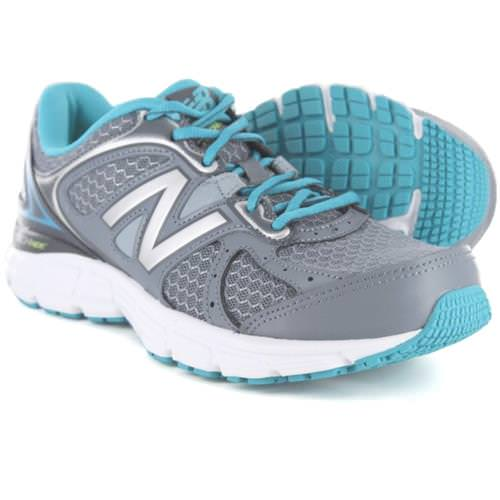 New Balance W560v6 Grey with Silver & Sea Glass W560LG6