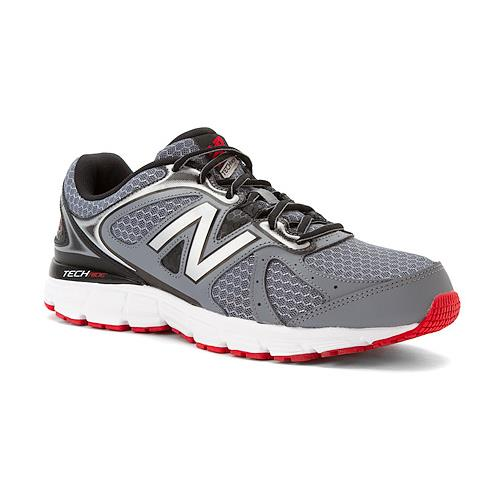 New Balance W560v6 Wide 4E Grey with Black & Red M560LRG