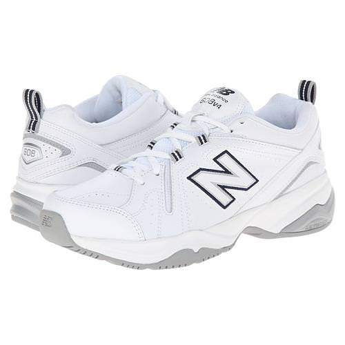 New Balance 608v4 Women's White, Bllue Cross Trainer Regular WX608V4W