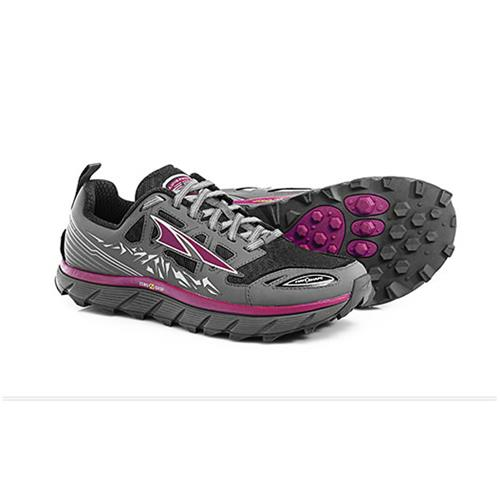 Altra Lone Peak 3 Trail Running Shoe for Women Black, Purple A2653-2