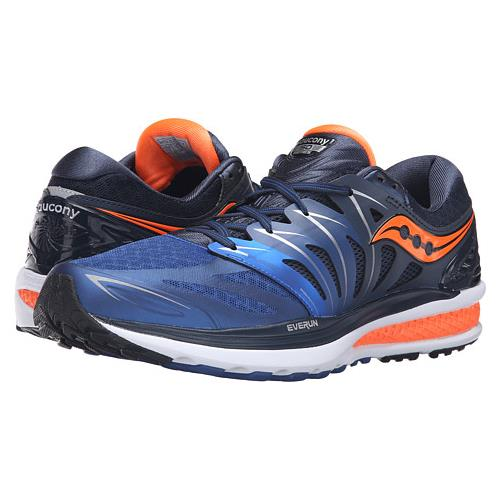 Saucony Hurricane ISO 2 Men's Navy, Blue, Orange S20293-4