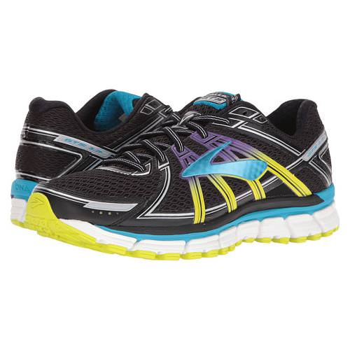 Brooks Adrenaline GTS 17 Women's Running Black, Hawaiian Ocean, Lime Punch 1202311B080