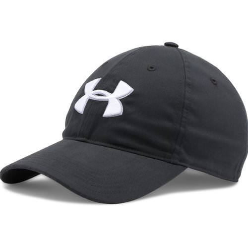 Under Armour Chino Adjustable Golf Hat Black, White 1273279-001