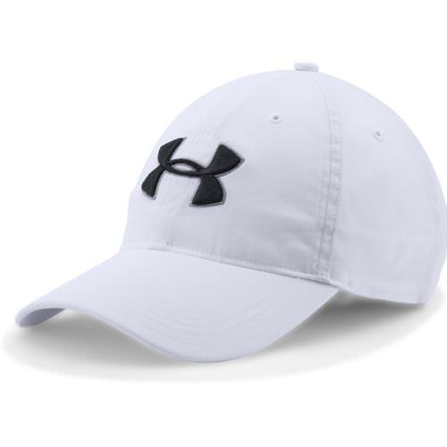Under Armour Chino Adjustable Golf Hat White, Black 1273279-100