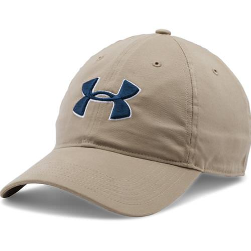Under Armour Chino Adjustable Golf Hat Canvas, Navy 1273279-254