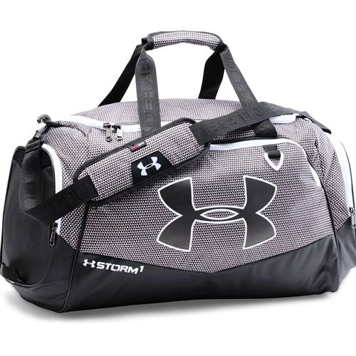 Under Armour Storm Undeniable 2 Medium Duffle Bag Black, White 1263967-012