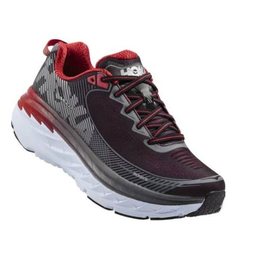 Hoka One One Bondi 5 Men's Wide EE Black, Formula One 1016604 BFON