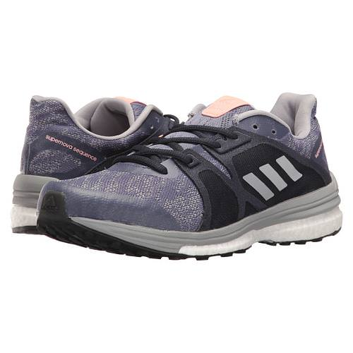 Adidas  Supernova Sequence 9 Women's Running Shoe Super Purple, Silver Metallic, Mid Grey BB1617