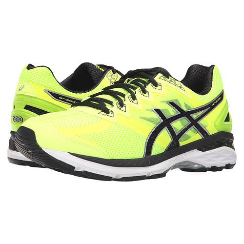 Asics GT-2000™ 4 Men's Running Shoe Safety Yellow, Onyx, Carbon T606N 0799