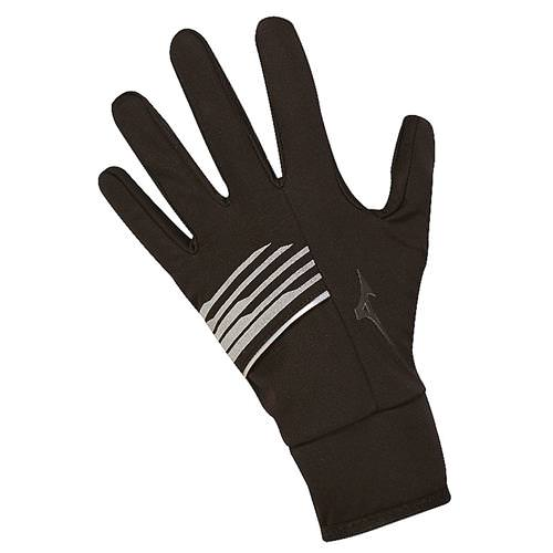 Mizuno Breath Thermo Softshell Glove Black 421358.9090