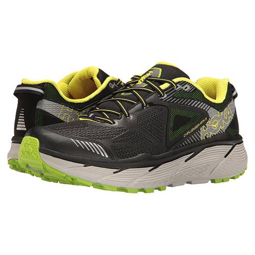 Hoka One One Challenger ATR 3 Men's Trail Black, Bright Green, Citrus 1014761 BBGC