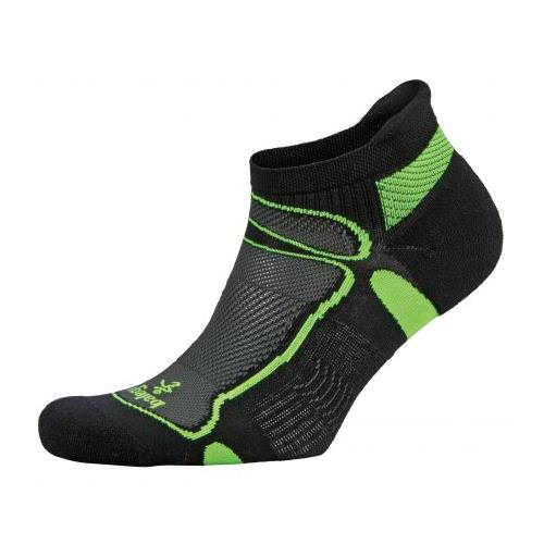 Balega Ultralight No-Show Socks Black, Lime 8924-3733