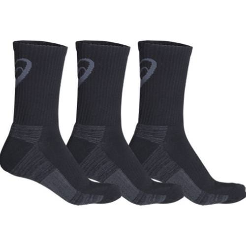 Asics Training Crew Men's Black 3 Pack ZK2458.0090